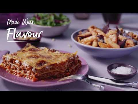M&S   Made Without Beef Lasagne & Penne Pasta