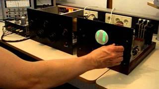 30 line Baird compatible television designed by F. Kerkhof pre war