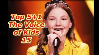 Top 5+1 - The Voice of Kids 15