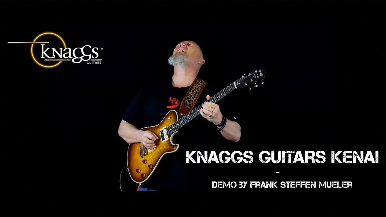 Melodic Instrumental Rock Guitar Solo | Knaggs Guitars Kenai |