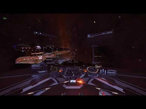 Elite Dangerous – Farragut Battle Cruiser Massive Frame Shift Surge