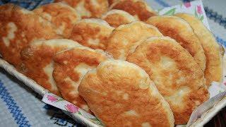 Безумно вкусные Жареные Пирожки с Картошкой. Тесто для Пирожков