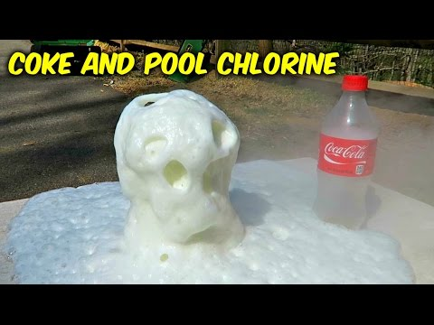 What Will Happen If You Mix Coke and Pool Chlorine?