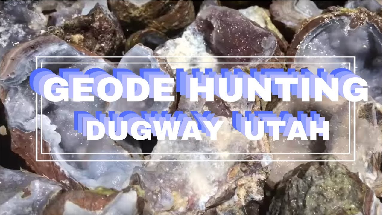 dugway geode beds youtube
