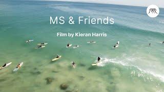 Perfect Longboard Surfing Session In Noosa, Australia   MS & Friends