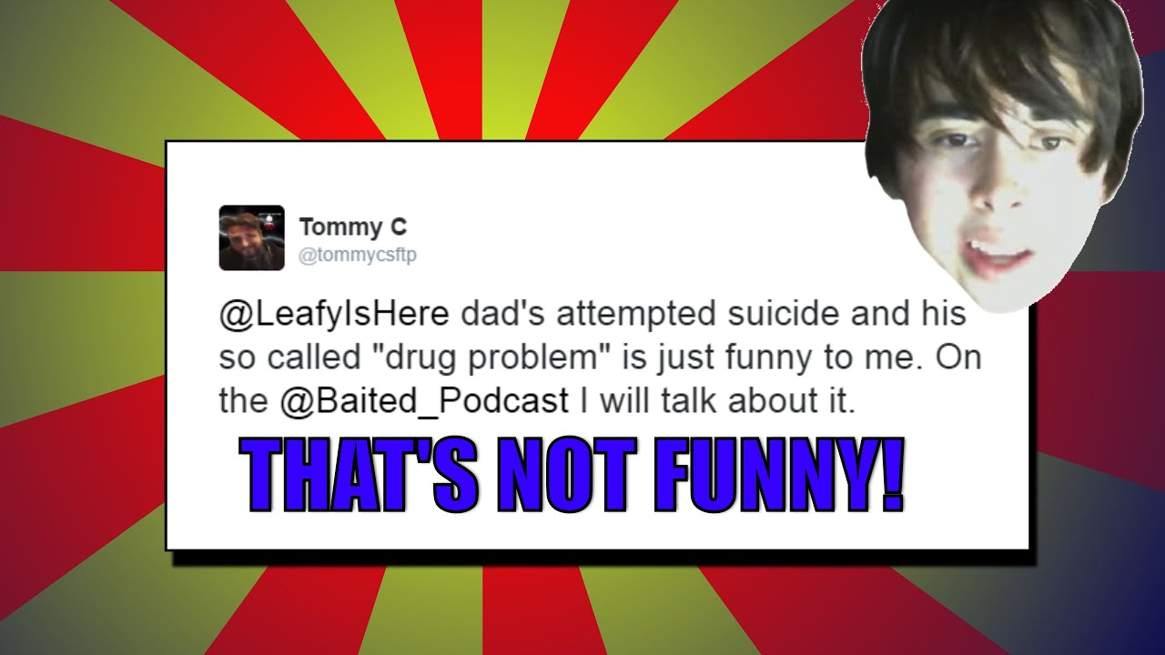 My Super Mean Tweet to leafyishere and why!