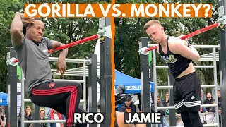 FREESTYLE BATTLE RICO VS. JAMIE WORLD CUP STAGE NETHERLANDS WSWCF - GORvents #73