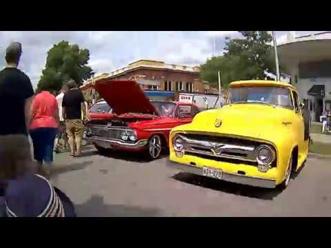 2018 MSRA Back to the Fifties 50's Car Show Time Lapse 2018