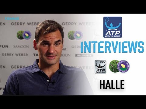 Federer Ready For Khachanov Challenge Halle 2017