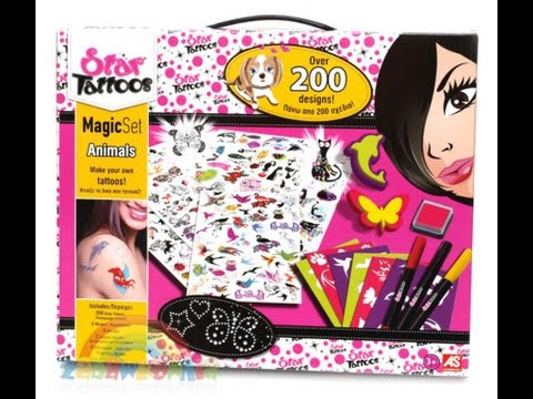 Studio Tatuażu Dla Dzieci Zabawkowniacompl