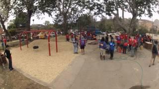 Kaboom! Playground Build Time-lapse