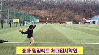 [체대실기] 성균관대학교 스포츠과학부 핸드볼던지기 / …