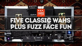 Five Classic Wah-Wah Pedals Compared With Plenty Of Fuzz Face Fun – That Pedal Show