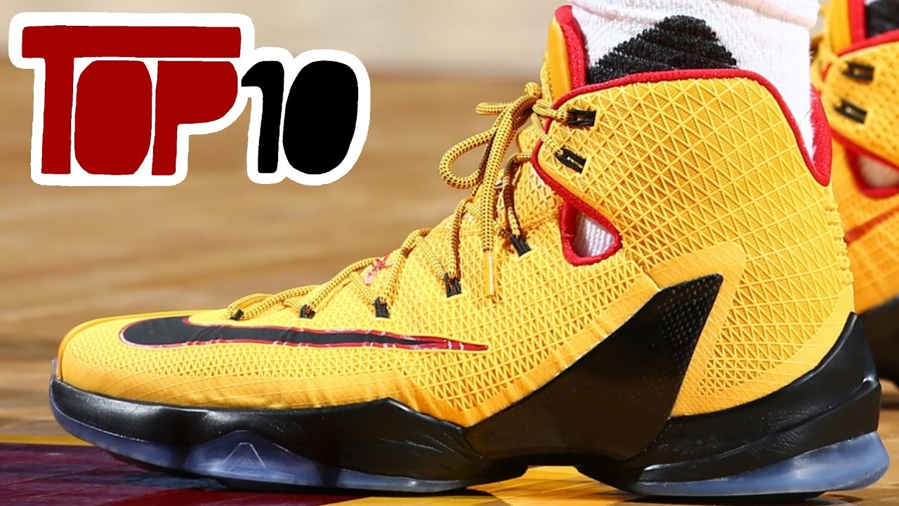 aff3519394269 Top 10 Comfortable Nike Basketball Shoes Of 2016 - YouTube