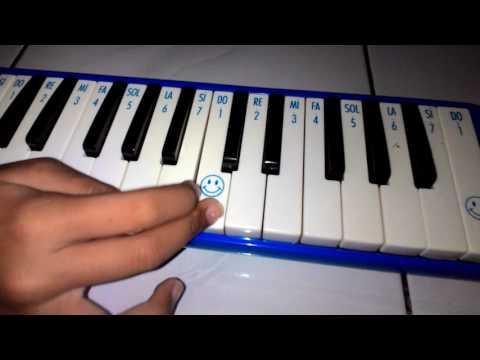 Lagu Indonesia Pusaka, Dengan Menggunakan Pianika