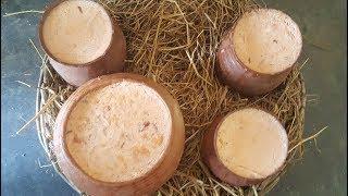 Yogurt Making For Hotel & Restaurant  Curd Preparing Process  Tasty Yogurt Made In Villa