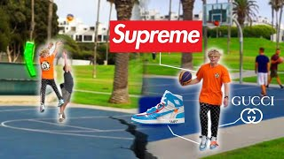 HypeBeast Plays Basketball At The Park!