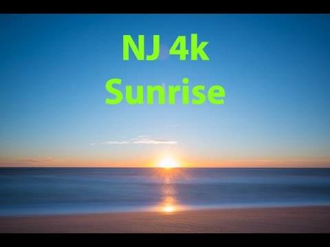 Ocean Sunrise in Real Time 4k - Relax - Meditation - Stress Relief