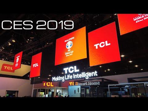 TCL CES 2019 New Quantum Dot / Mini LED / Soundbars