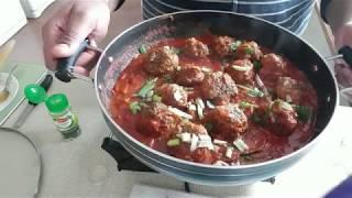 Lamb Meatballs (Kebabs Chutney)