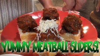 Mariah Milano's Yummy Meatball Sliders!
