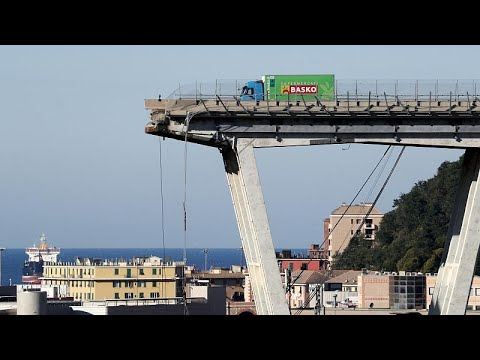 'I saw the car disappear into the clouds': Survivors of Genoa's bridge collapse share their stori…