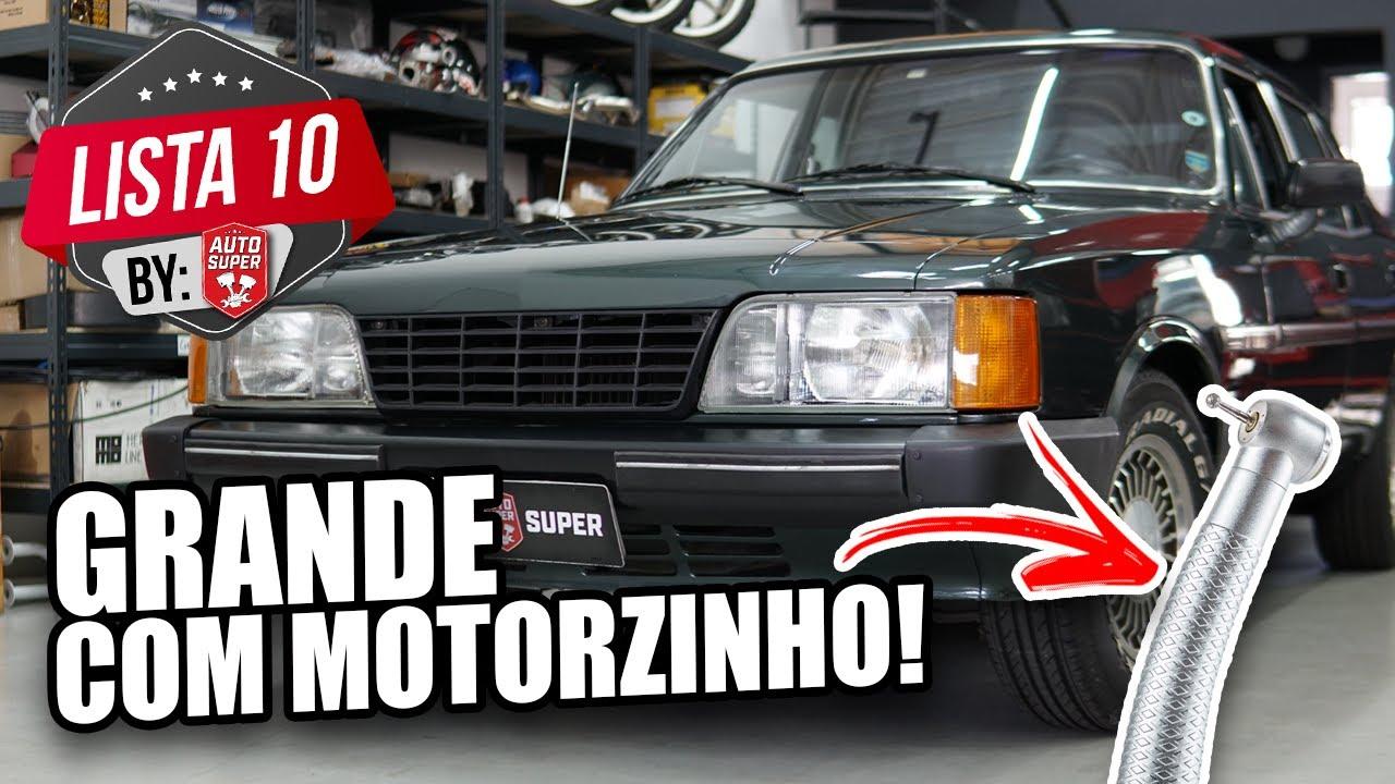 10 CARROS GIGANTES COM MOTORES MINÚSCULOS (by membros)