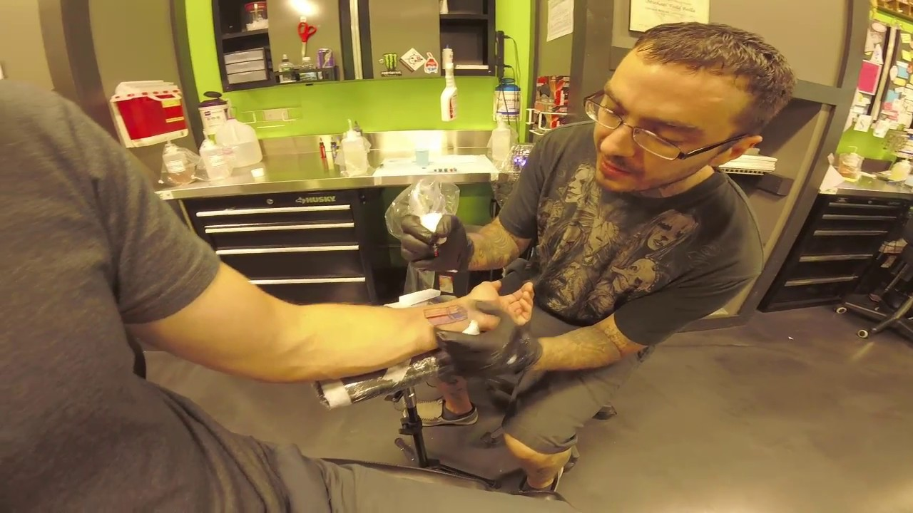 e402a25b4 Kubb Tattoo: Inkheart Tattoo, Chaska MN 9.15.18 - YouTube