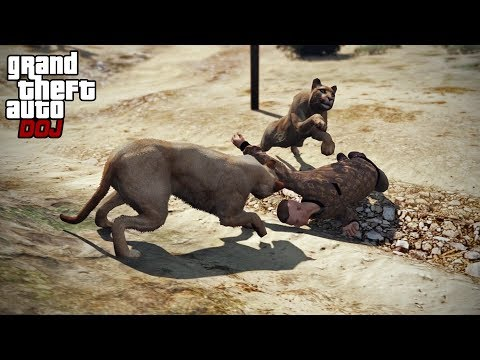 GTA 5 Roleplay - DOJ 200 - Cats on The Loose (200th Special)