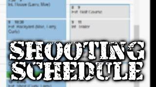 Tip: Create Shooting Schedule with Google Calendar