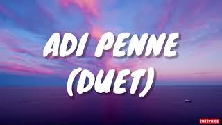 Adi Penne (Duet) Lyrics - Naam