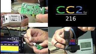 CC2tv #216: Niederspannung schalten, Radarsensoren, Smart-Stromverbrauch