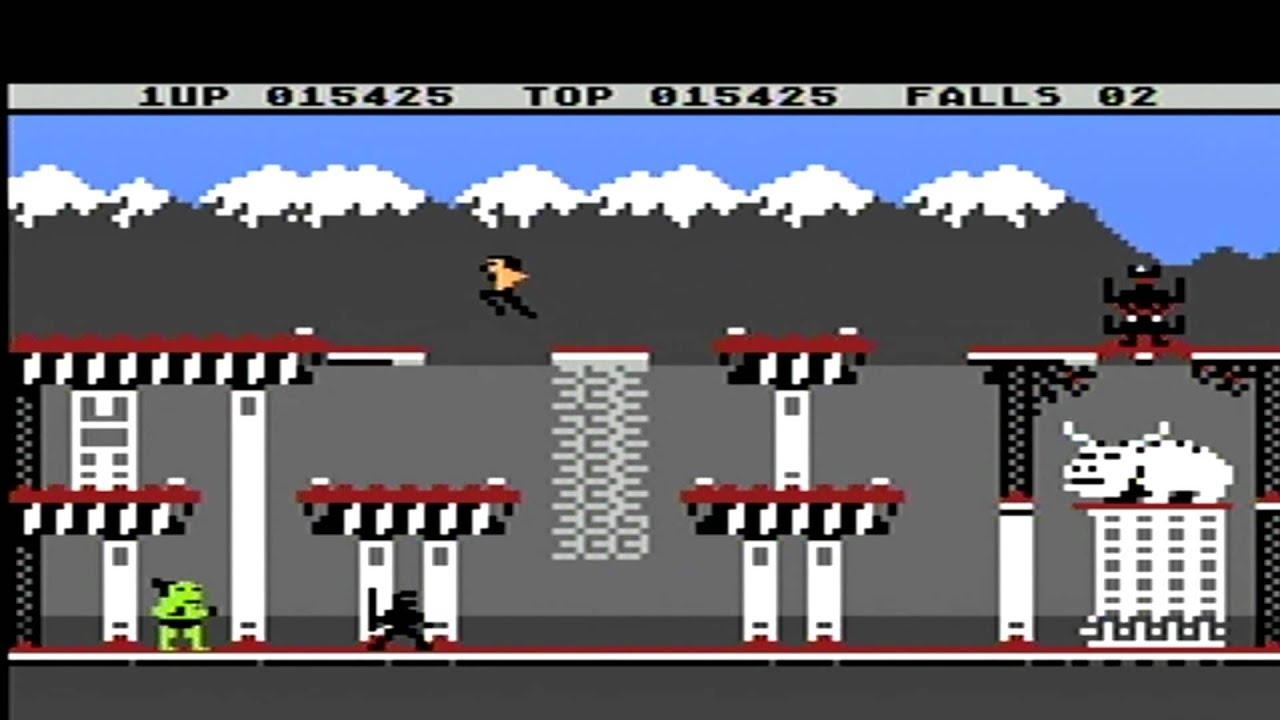 Bruce Lee Atari 800xl Gameplay Primera Parte Youtube