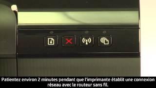 Configurer une imprimante dans un réseau Wi-Fi protégé (WPS)