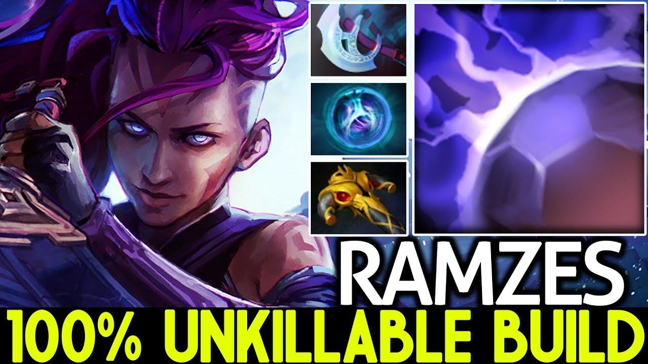 RAMZES [Anti Mage] 100% Unkillable Build Anti Counter Pick Dota 2