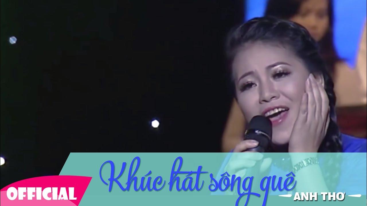 Khúc Hát Sông Quê [Lyrics +Karaoke] Anh Thơ | LIVESHOW Trọng Tấn