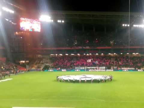 Гимн Лиги Чемпионов ЦСКА - Монако