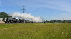 Gotthard Bahnverkehr am 21.05.16 – «SBB Historic Volldampf»