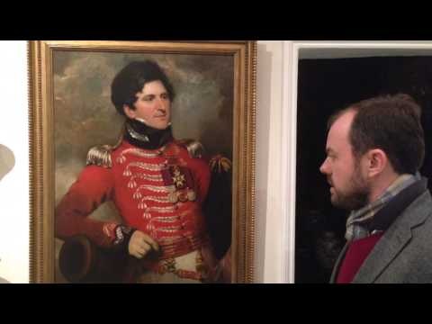 Military portraiture at Timothy Langston Fine Art & Antiques in Pimlico, London