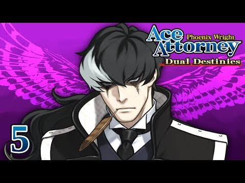 THE TWISTED SAMURAI - Let's Play - Phoenix Wright: Ace Attorney: Dual Destinies - 5 - Playthrough