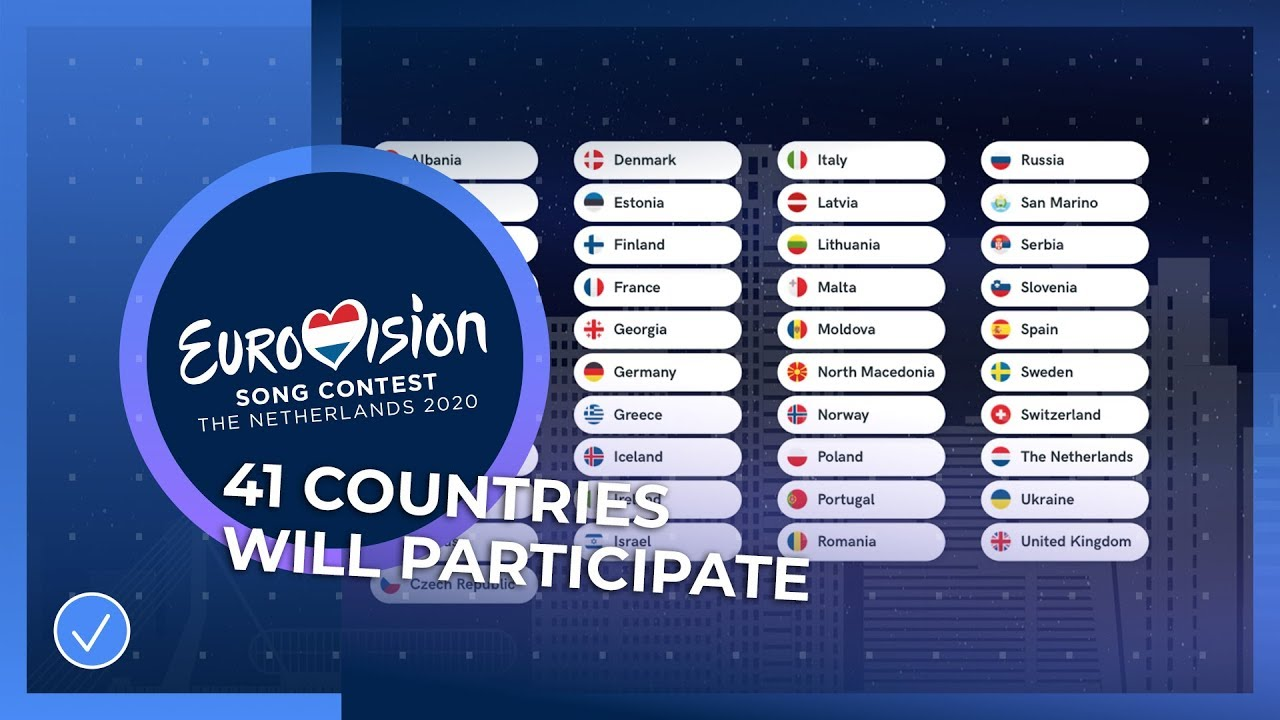 Eurovision Song Contest 2020 Ranking