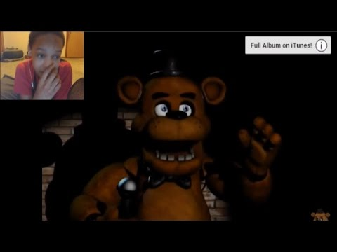 It's Me - Five Nights At Freddy's Song REACTION | THERE'S EVIL THAT WAITS INSIDE