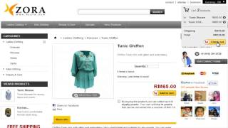 XZORA.com Malaysia Online Fashion Store (registered user)