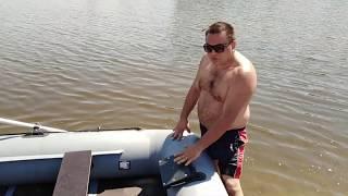 лодка Хантер 300 ЛТ полный обзор