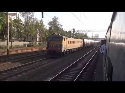 Super Race With The First Superfast Train Of Indian Railways (Deccan Queen) !!!!