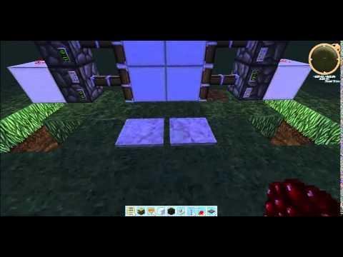 tuto facile minecraft comment faire une porte avec des. Black Bedroom Furniture Sets. Home Design Ideas