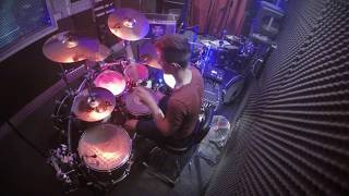 Bleed From Within - Death Walk Drum Cover   Felix Faviez From Miles Of Grace