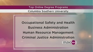 Studio 10: Columbia Southern University top online degree programs