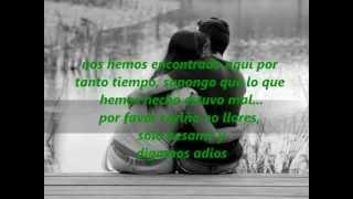 Let's just kiss and say goodbye subtitulado en espanol