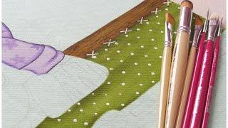 Pintura em tecido – Projeto Zebrinha Jurema – Parte 4